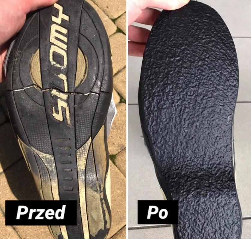 Naprawa butów motocyklowych Robertozon