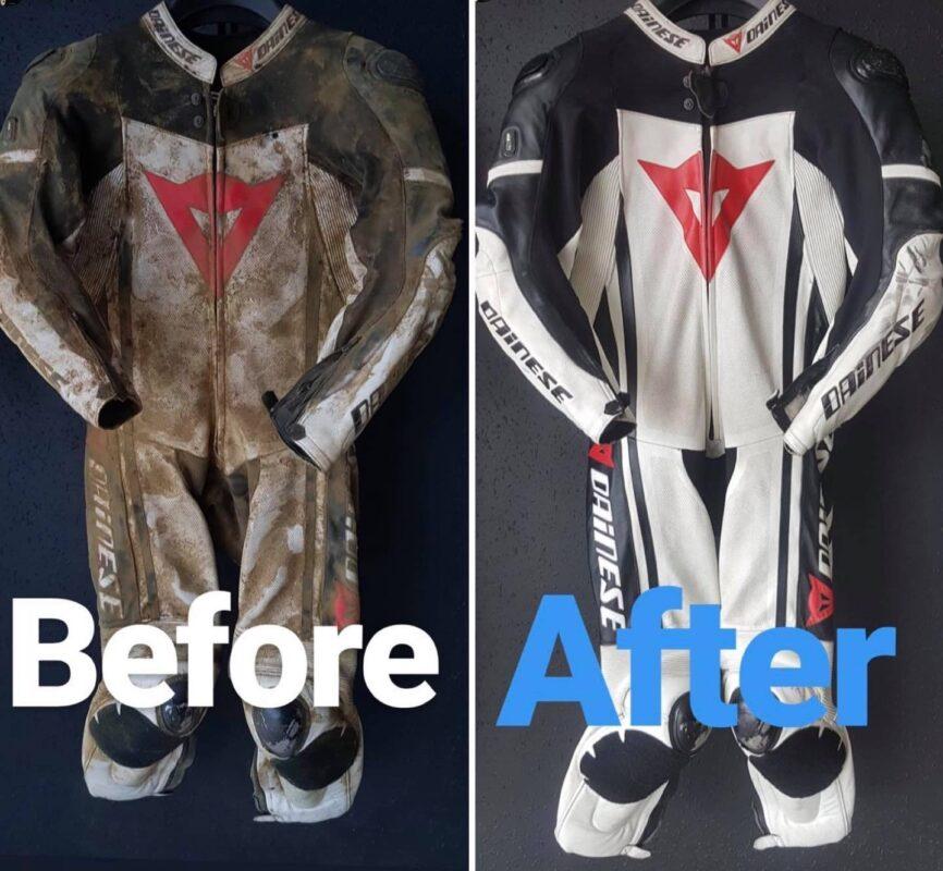 Serwis odzieży motocyklowej