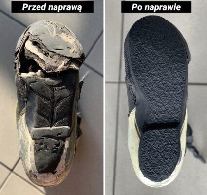 Odbudowa obuwia motocyklowego