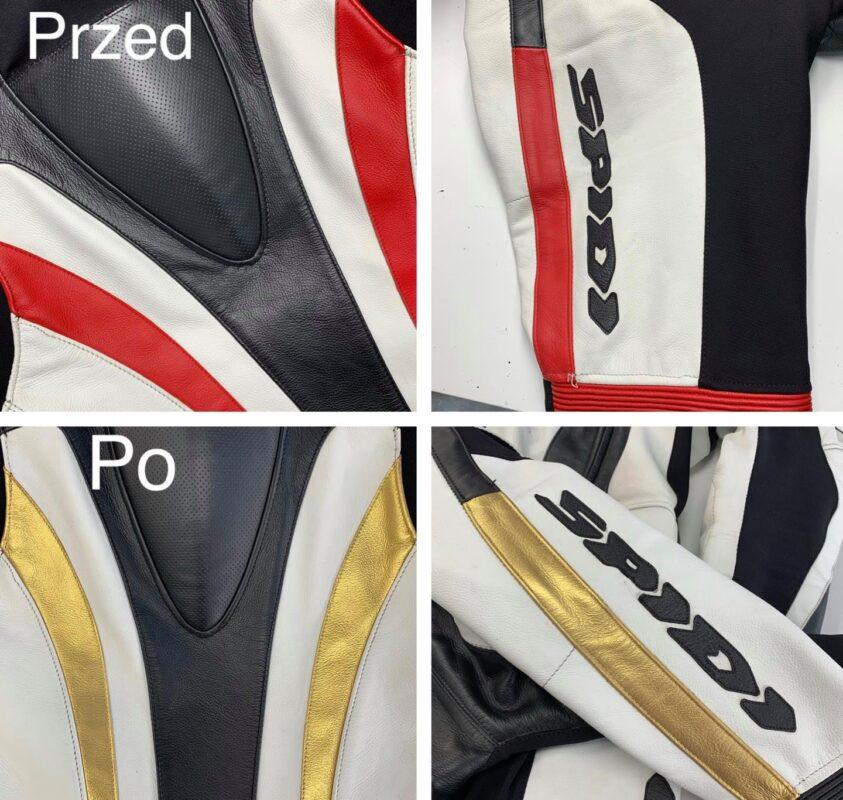 Personalizacja kombinezonu motocyklowego oraz zmiana koloru